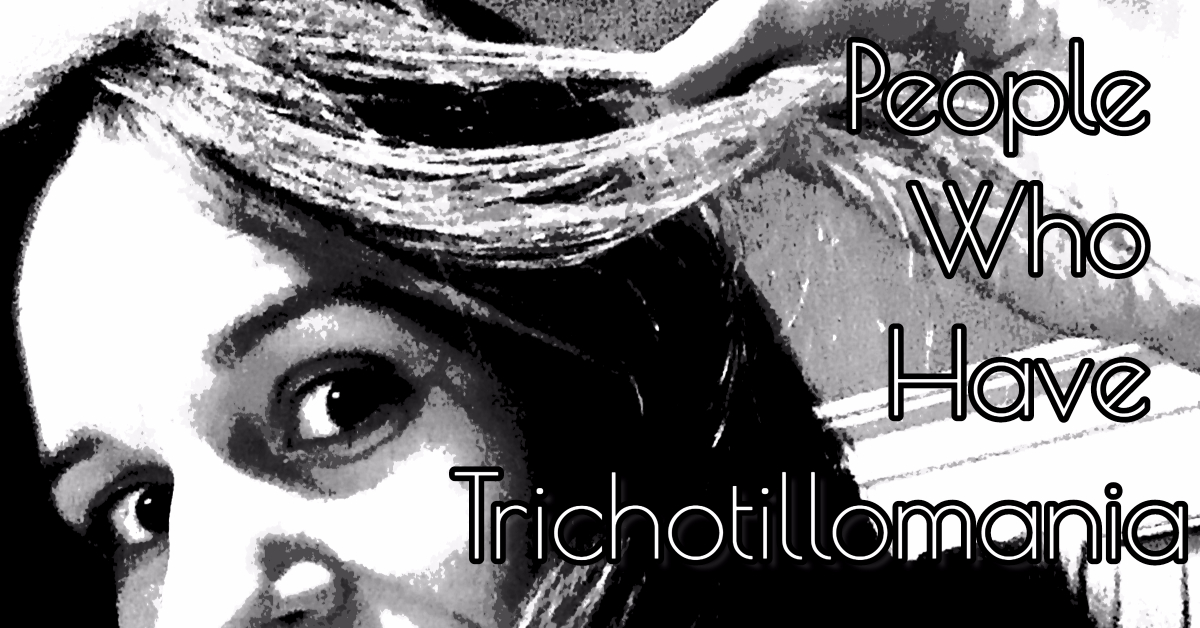I started this blog as a way to talk to other people who pull their out like I do. I've had trichotillomania since I was a kid and I have found that being around others who have this hair pulling disorder helps me not feel alone, how about you.