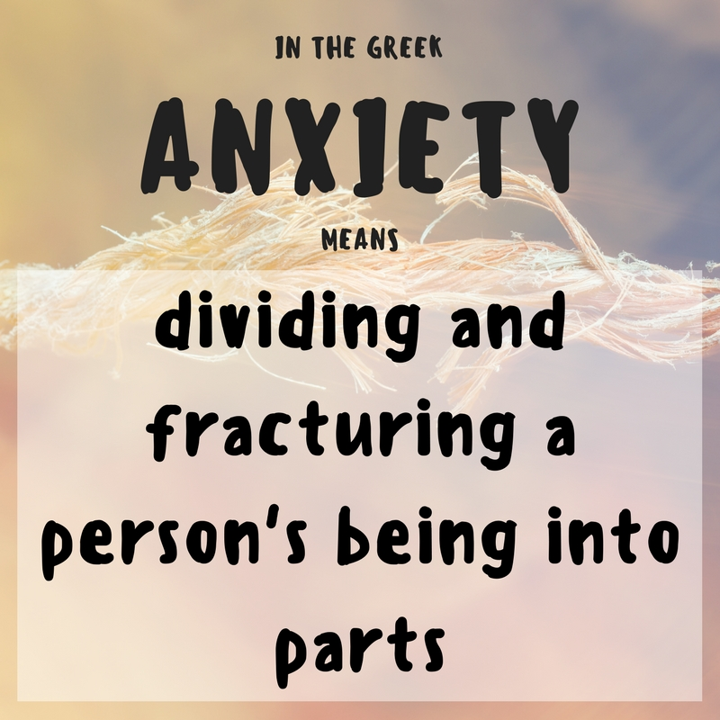 ANXIETY MEANING