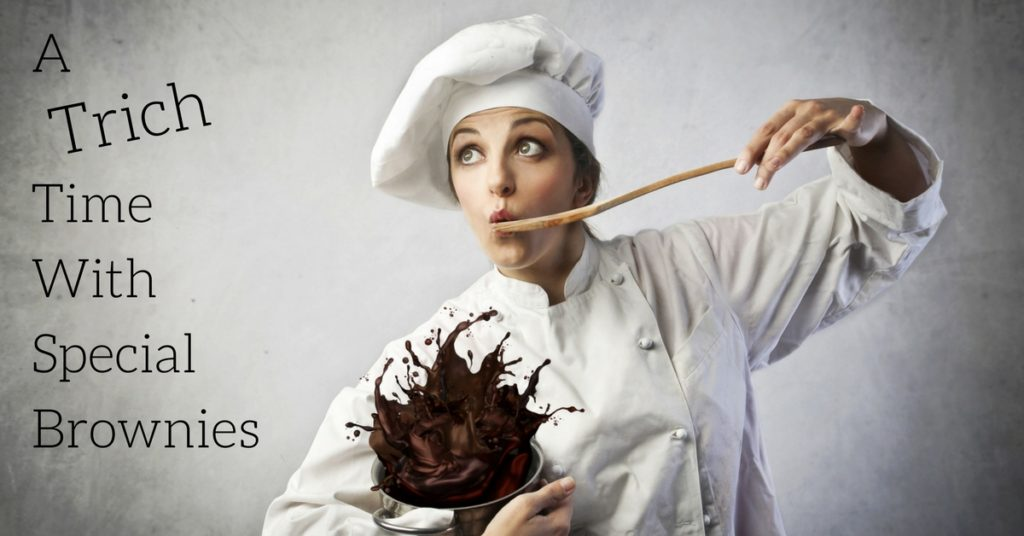Do Cannbis Brownies Help Trichotillomania? Marijuana desserts for a hair pulling disorder, that sounds right..