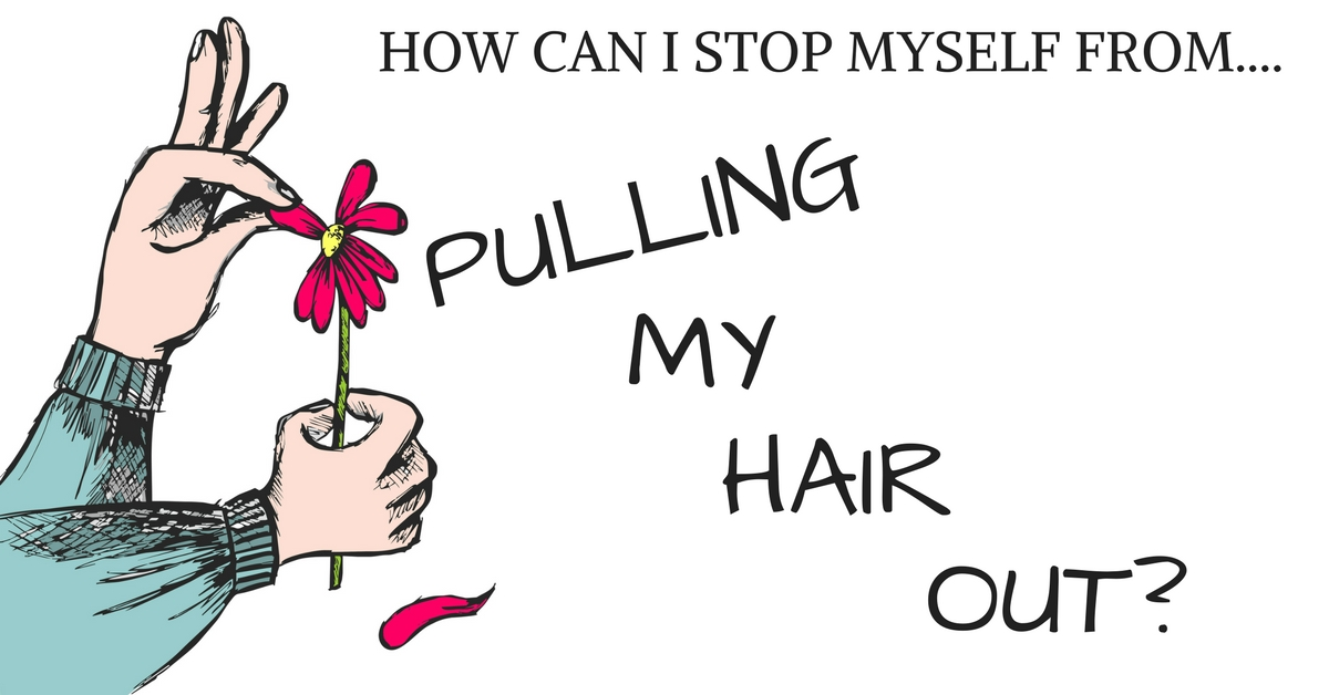 How Can I Stop Myself From Pulling My Hair Out?  I Think I Have An Idea!  Well, TWO Ideas!