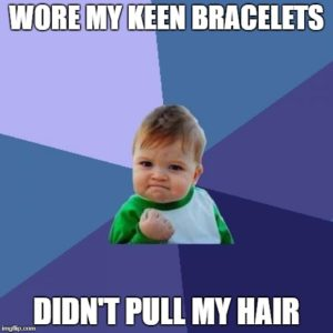 Does Keen HabitAware Bracelets help stop trichotillomania? Here's my experience after a week.