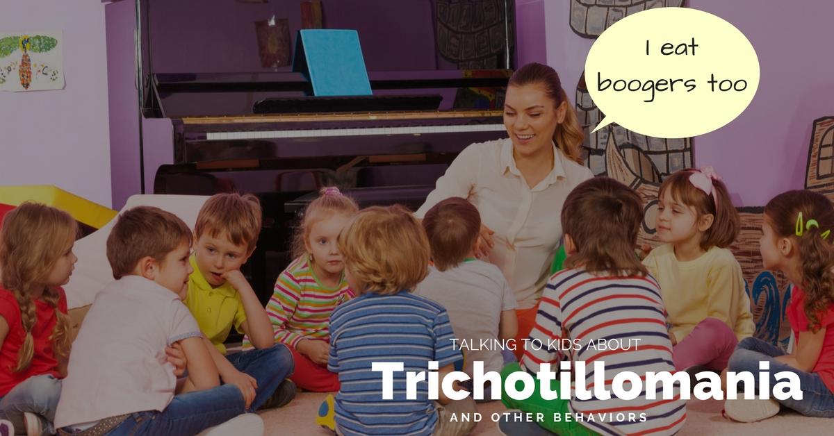 teaching kids about trichotillomania