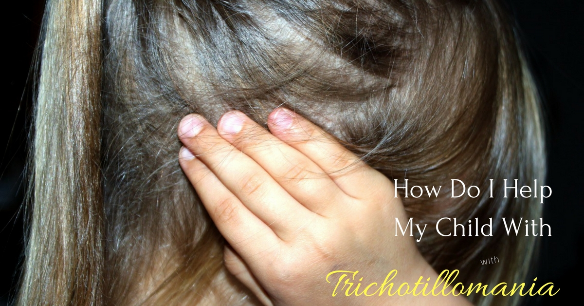 How do I help my child with trichotillomania? These techiniques and products have helped others help their kids with this hair pulling disorder.