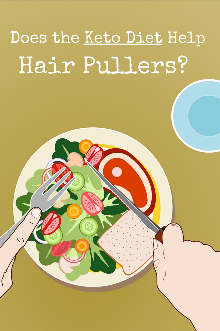 Does the keto diet help hair pulling disorders? Will it stop my trichotillomania?