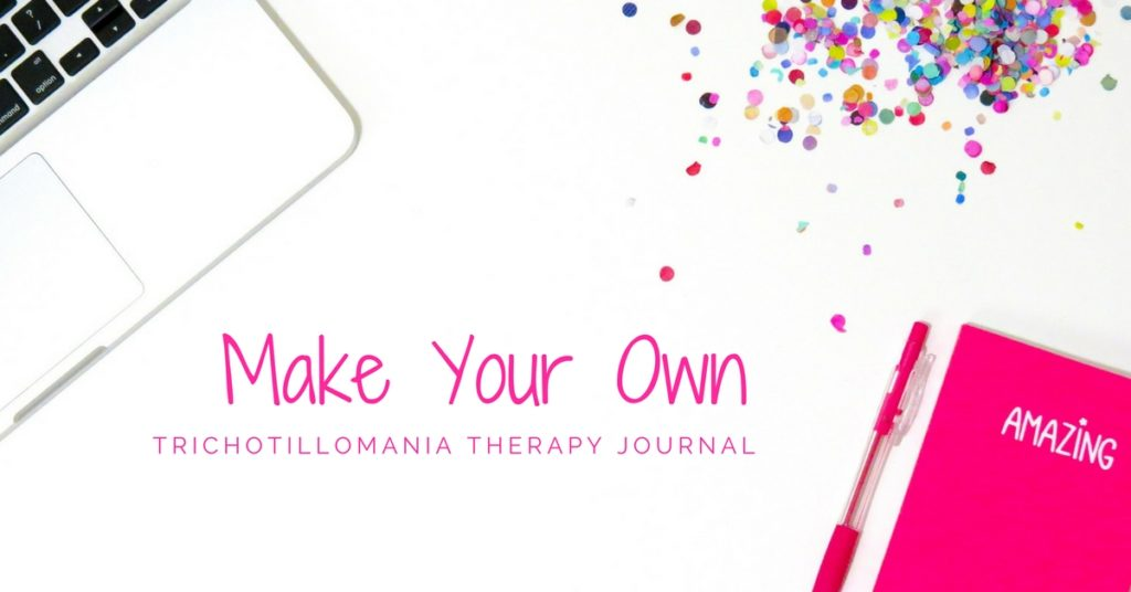 Make your own trichotillomania therapy journal using these free printable pages. You can also just put one together using the information listed here. Use along side any products or treatment you are already using. I used a journal like this to stop hair pulling in my life.
