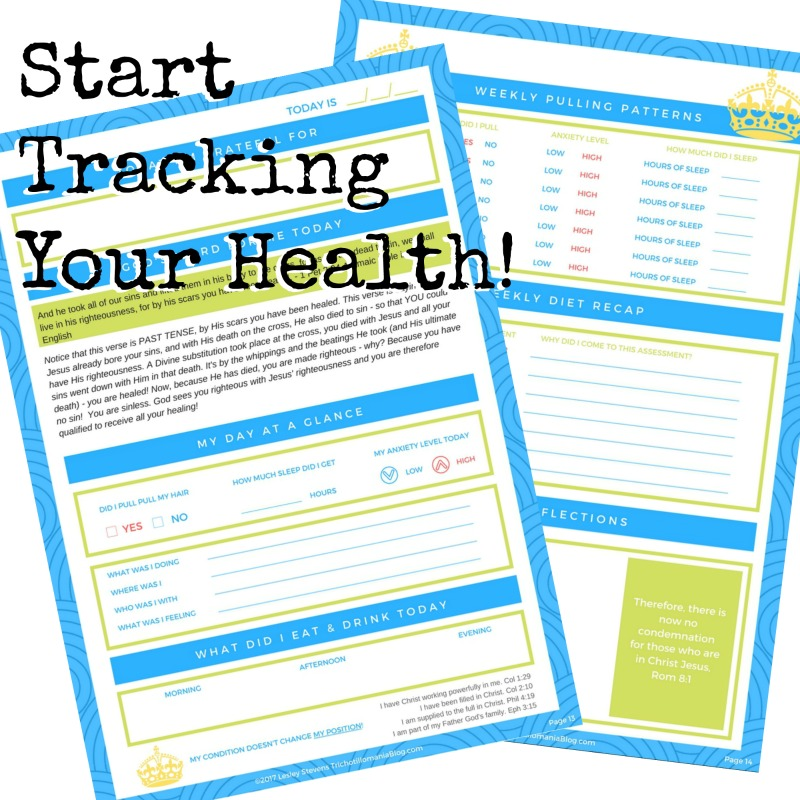 I stopped hair pulling with a Trichotillomania Health Tracking Journal like this. You simply follow along each day and fill out the worksheets. There's also a printable version too so you can download the PDF files and make it at home. If not you can buy it on Amazon too. It's really cheap and one of the best trichotillomania products ever.
