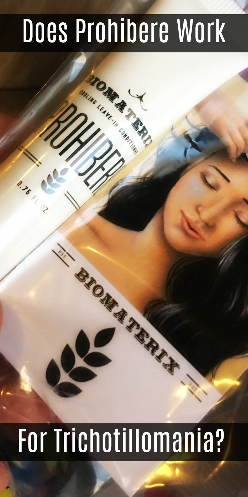 Does Prohibere help stop hair pulling disorders? I have trichotillomania and I bought this leave-in conditioner to put on my scalp after reading the reviews on Amazon. Before you buy this trichotillomania conditioner, be sure to read my review because there are some things you should know about this product.
