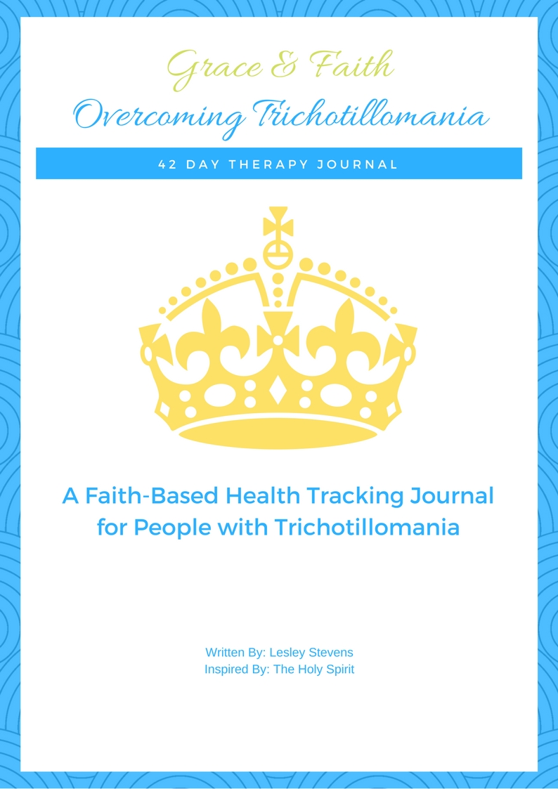 Overcoming Trichotillomania Health Tracking Journal - this is one of the very best trichotillomania products you could buy yourself even before you begin looking for treatment. This journal will help you self monitor and track patterns in your hair pulling disorder. Find out what makes this journal so theraputic and special for hair pullers.