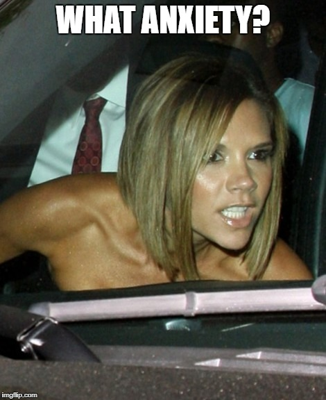 Victoria Beckham is reported to have trichotillomania, a hair pulling disorder that she suffered hair loss from. She's one of many celebrities that have trichotillomania. Famous people are human, like us.