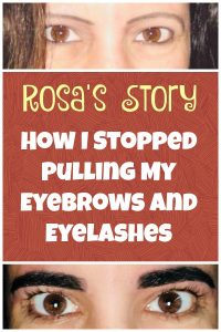 How I Stopped Pulling Out My Own Eyelashes and Eyebrows. My Trichotillomania Treatment That Helped Me Stop Hair Pulling!