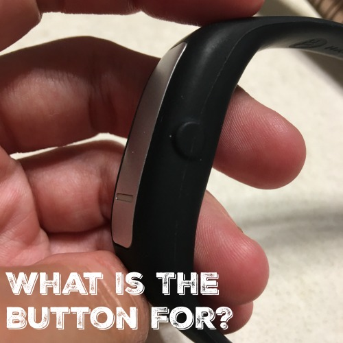 What is the button for on this trichotillomania bracelet anyway?