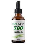 500mg Full Spectrum CBD Oil, Natural Flavor