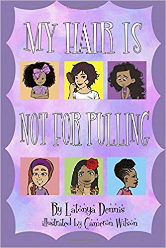 My Hair Is Not For Pulling Book for Kids with Trichotillomania
