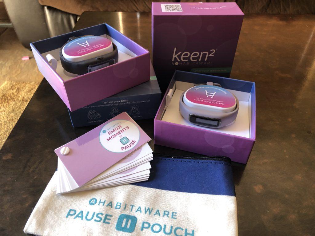 HabitAware Keen2 Bracelets - What's inside the box